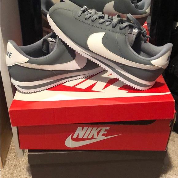 Nike Shoes   Gray Nike Cortez   Poshmark